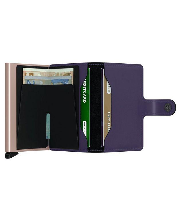 Matte Leather Miniwallet picture 5