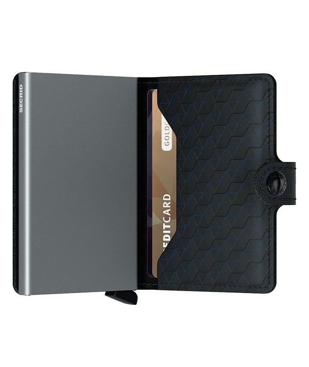 Optical Leather Miniwallet picture 4