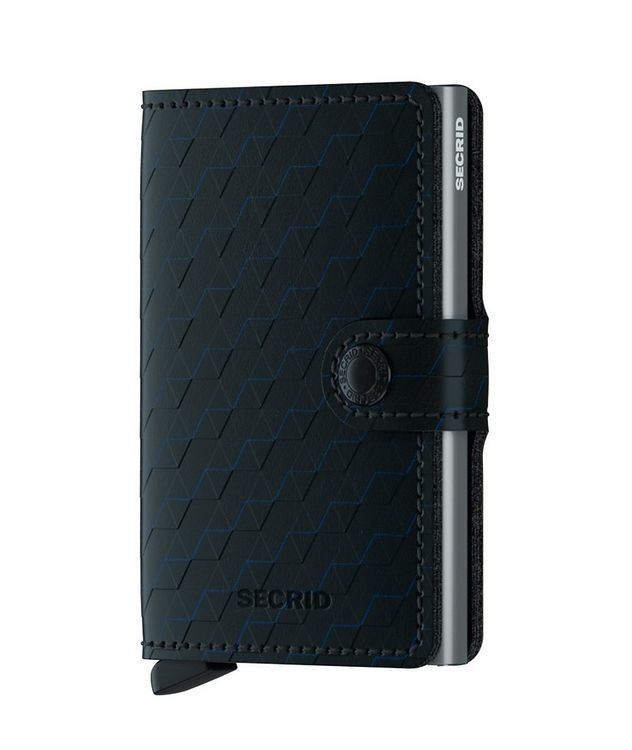 Optical Leather Miniwallet picture 1