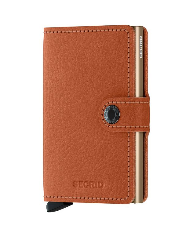 Vegetable-Tanned Leather Miniwallet picture 1