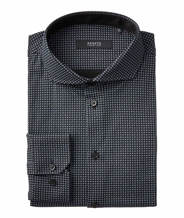 Printed Pima Cotton-Jersey Shirt picture 1