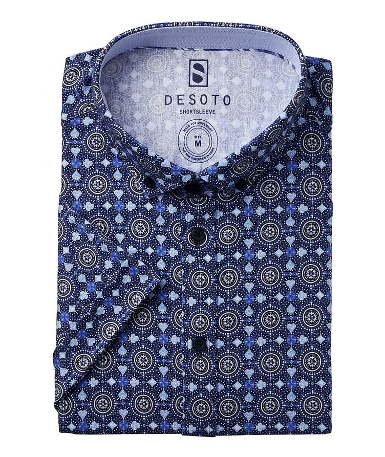 Hai Medallion Cotton Short Sleeve Shirt image 0