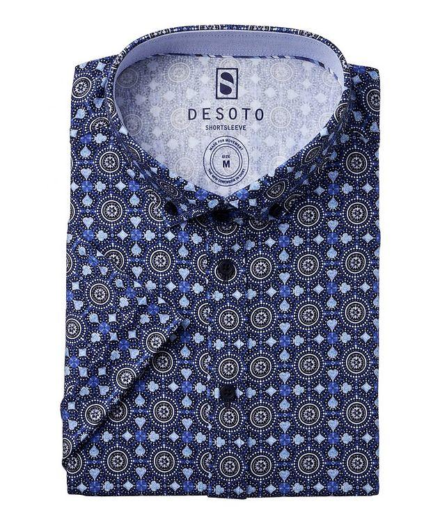 Hai Medallion Cotton Short Sleeve Shirt picture 1