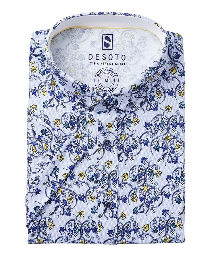 Hai Cotton Grape Vine Short Sleeve Shirt image 0