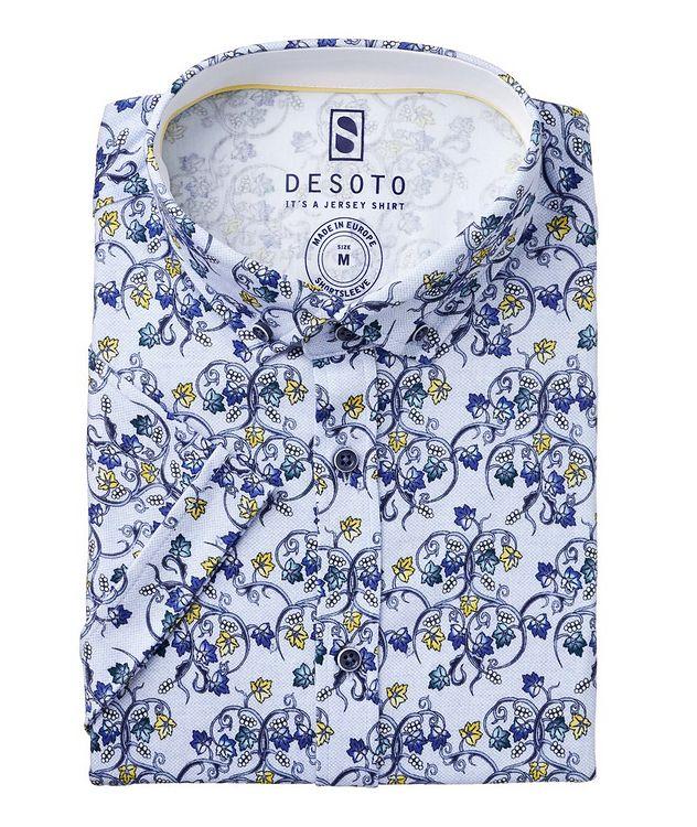 Hai Cotton Grape Vine Short Sleeve Shirt picture 1