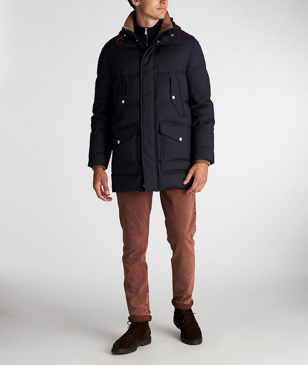 Water-Repellent Wool-Silk Coat picture 6