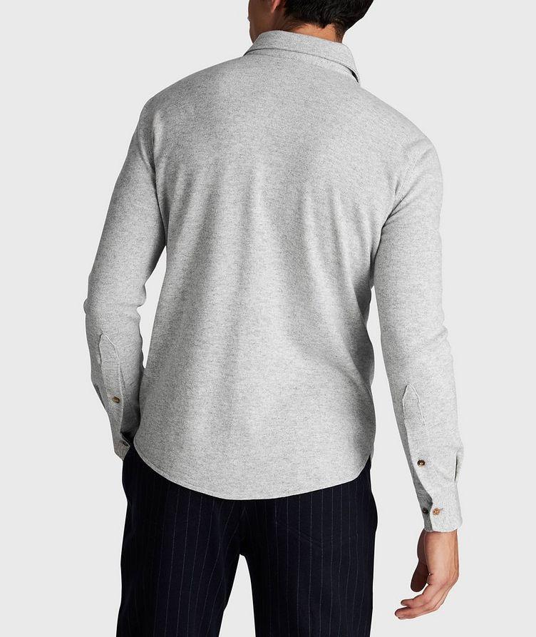 Wool, Cashmere, and Silk Shirt Jacket image 2