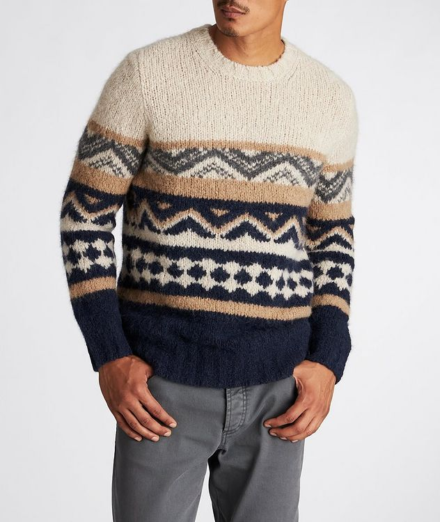 Fair Isle Alpaca-Blend Sweater picture 2