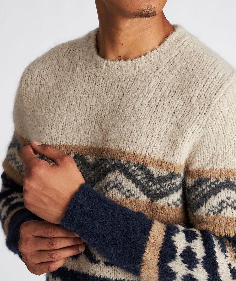 Fair Isle Alpaca-Blend Sweater image 3