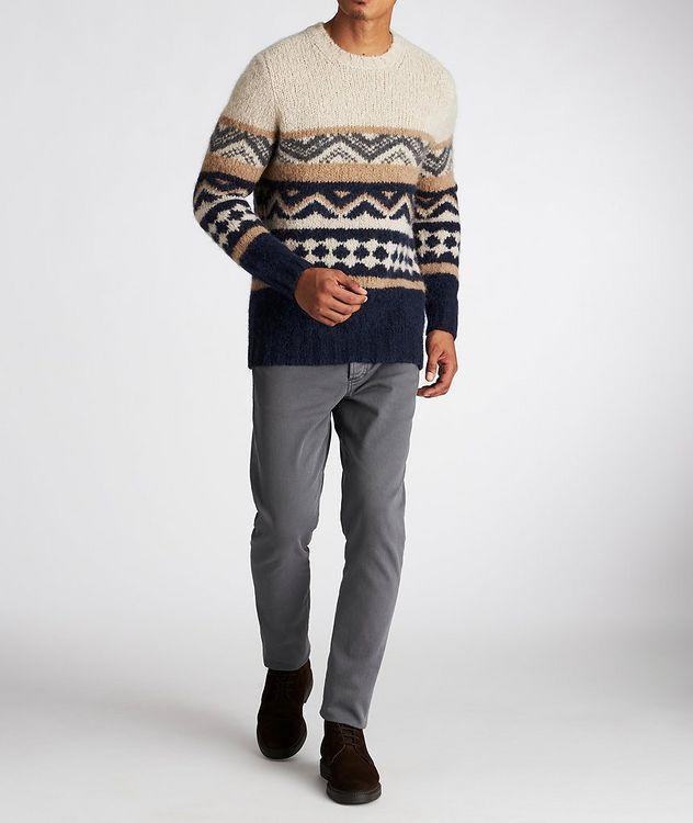 Fair Isle Alpaca-Blend Sweater picture 5