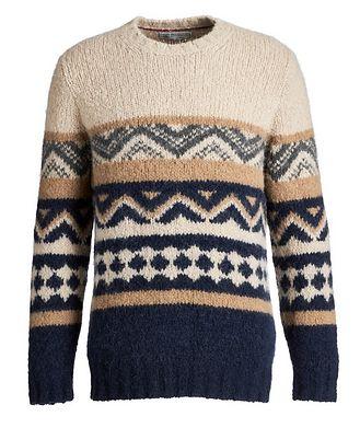 Brunello Cucinelli Fair Isle Alpaca-Blend Sweater