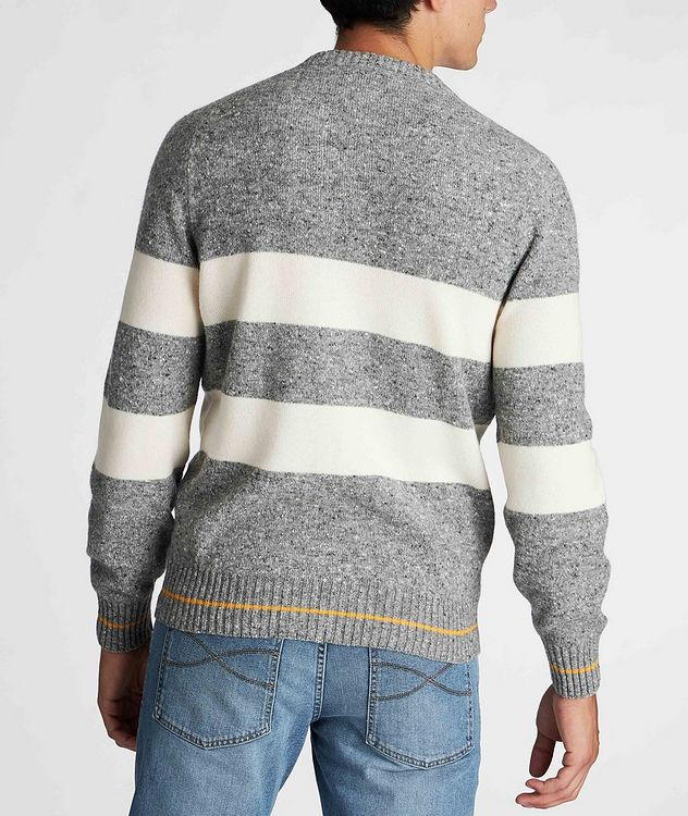 Striped Knit Wool-Cashmere Sweater  picture 5