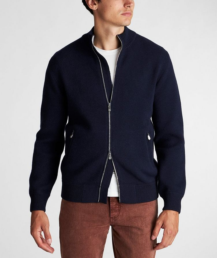 Zip-Up Cashmere Sweater image 1