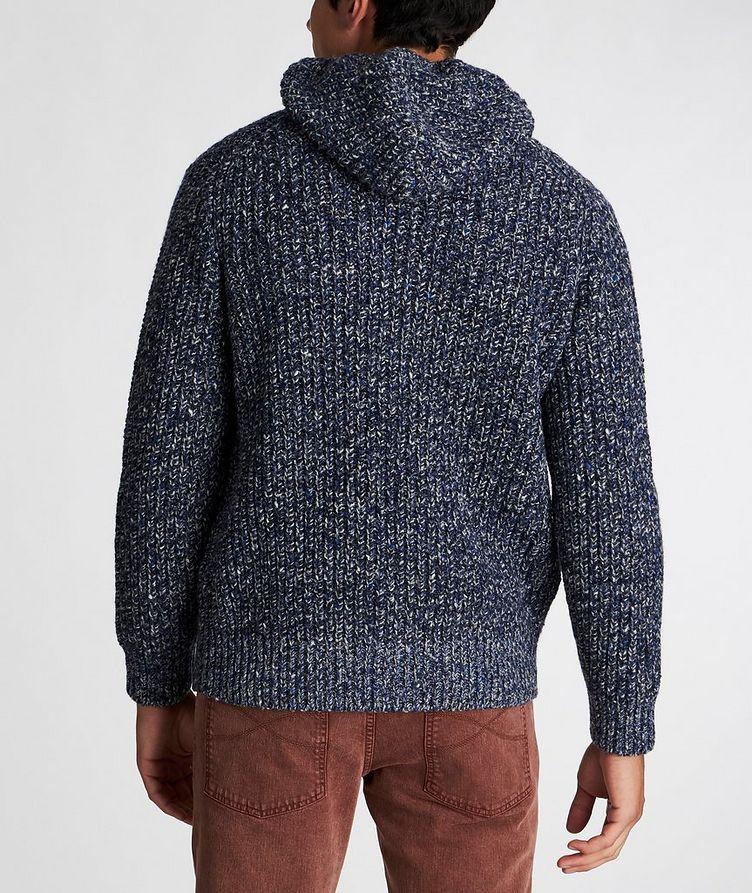 Zip-Up Wool-Cashmere Hoodie image 2