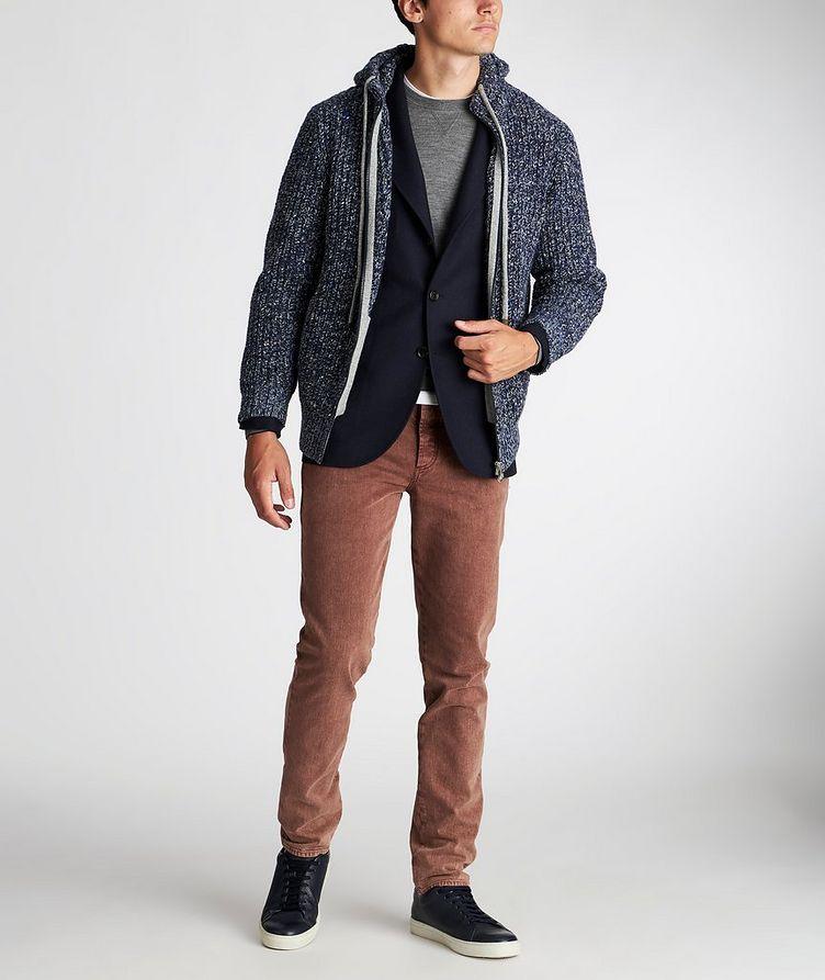 Zip-Up Wool-Cashmere Hoodie image 4