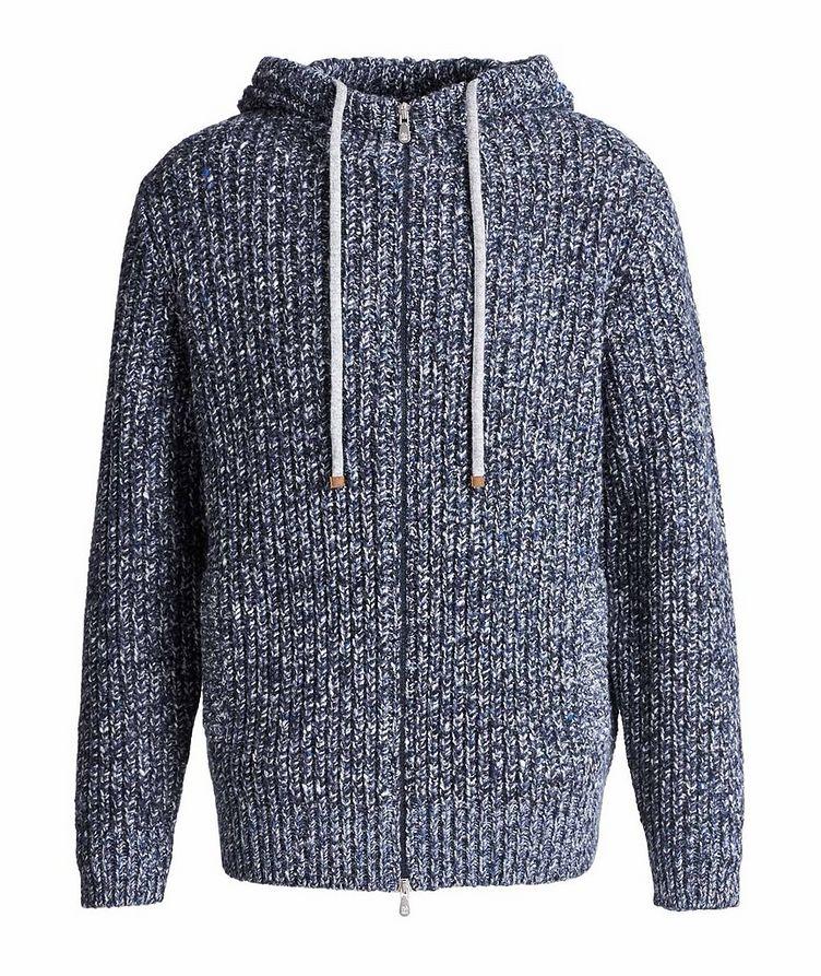 Zip-Up Wool-Cashmere Hoodie image 0
