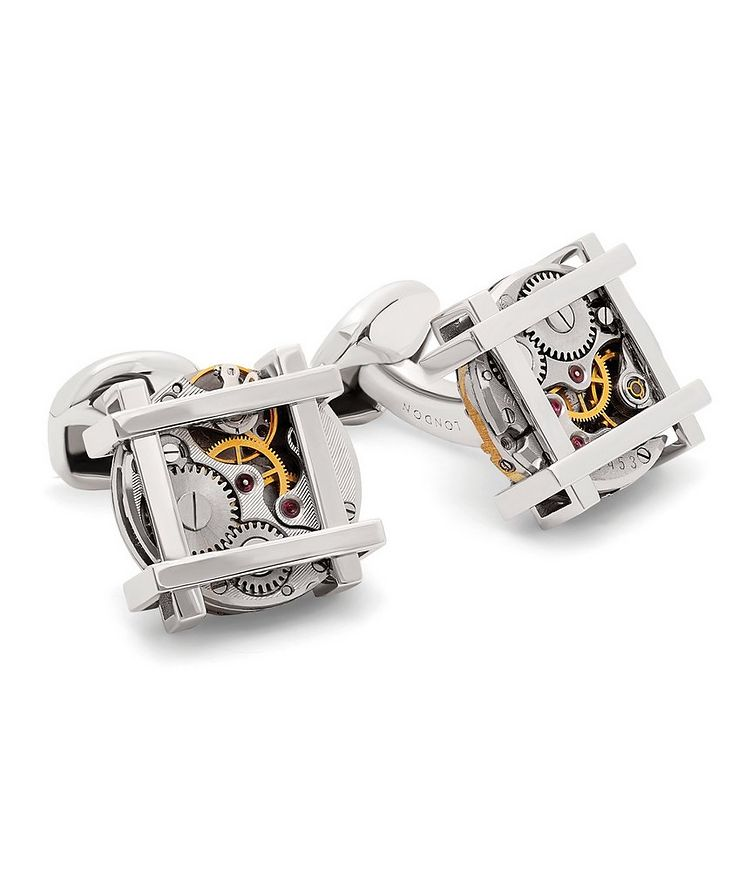 Square Gear Cufflinks image 0