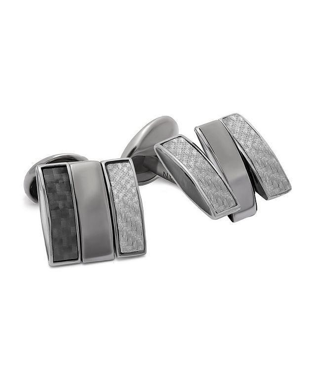 Multi-Texture Cufflinks picture 1
