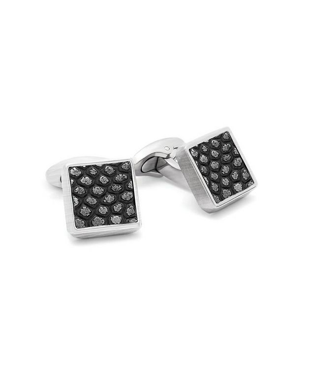 Geometric Animal Print Cufflinks picture 4