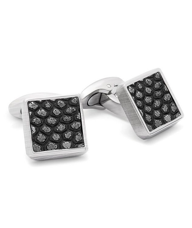 Geometric Animal Print Cufflinks picture 1