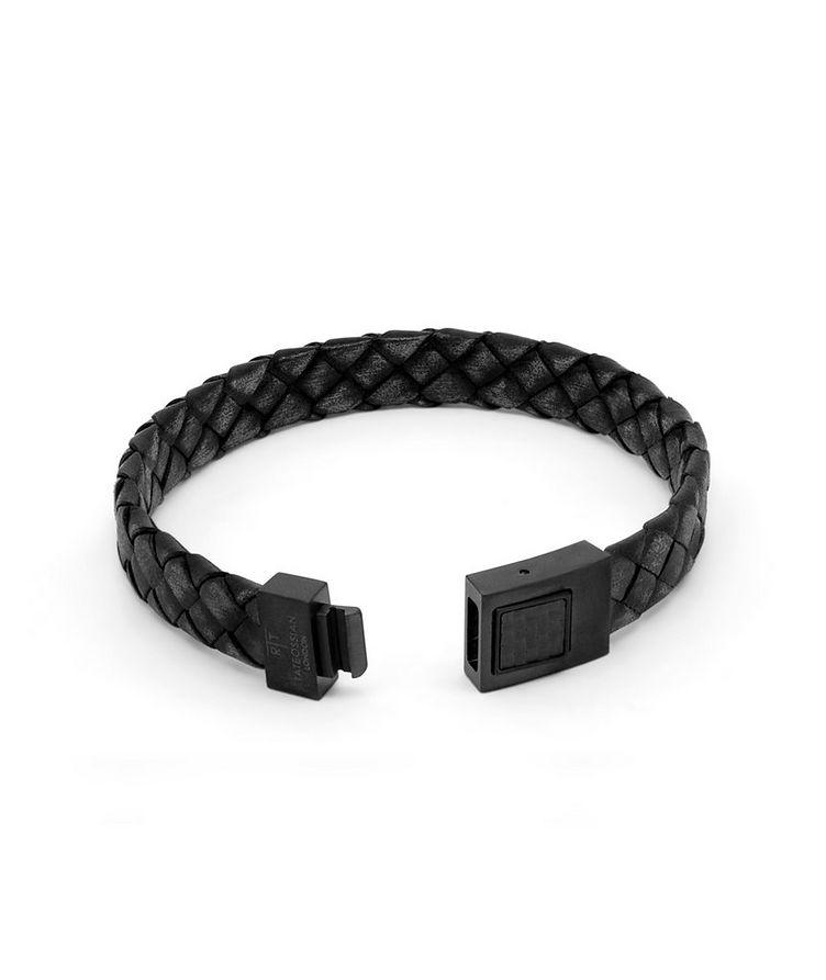 Carbon Woven Bracelet image 2