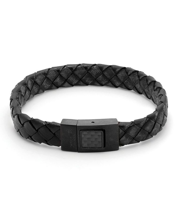 Carbon Woven Bracelet image 0