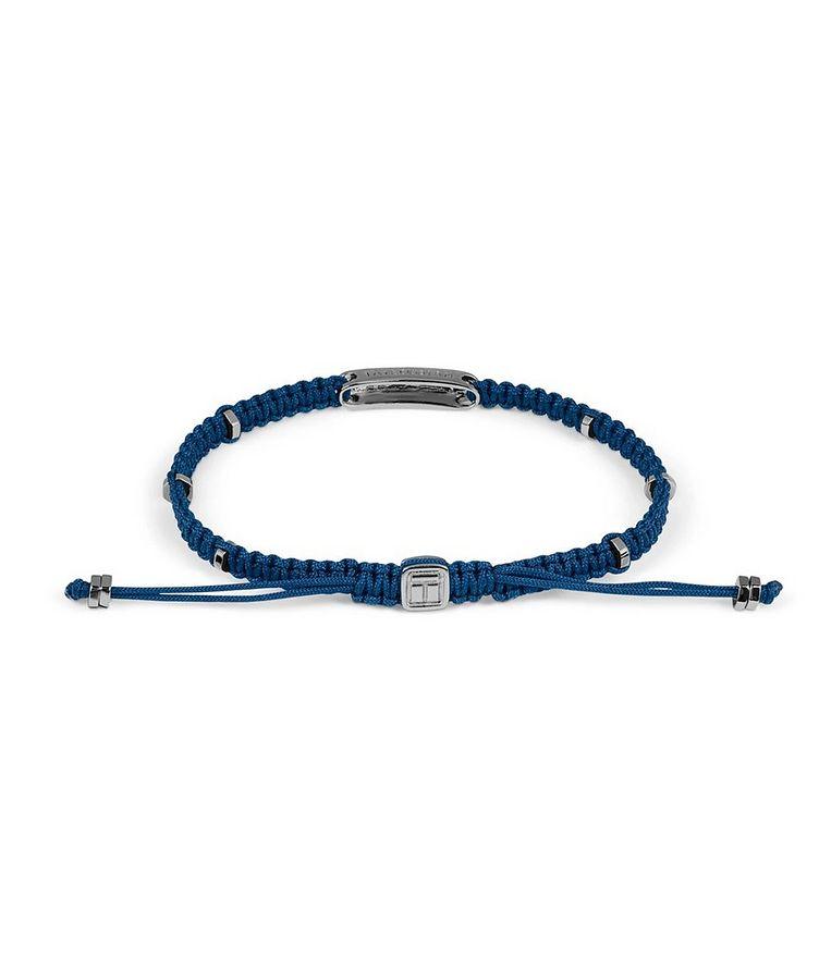 Engravable Macramé Bracelet image 1