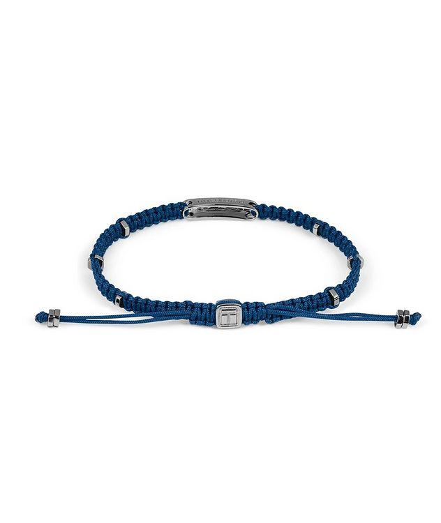 Engravable Macramé Bracelet picture 2