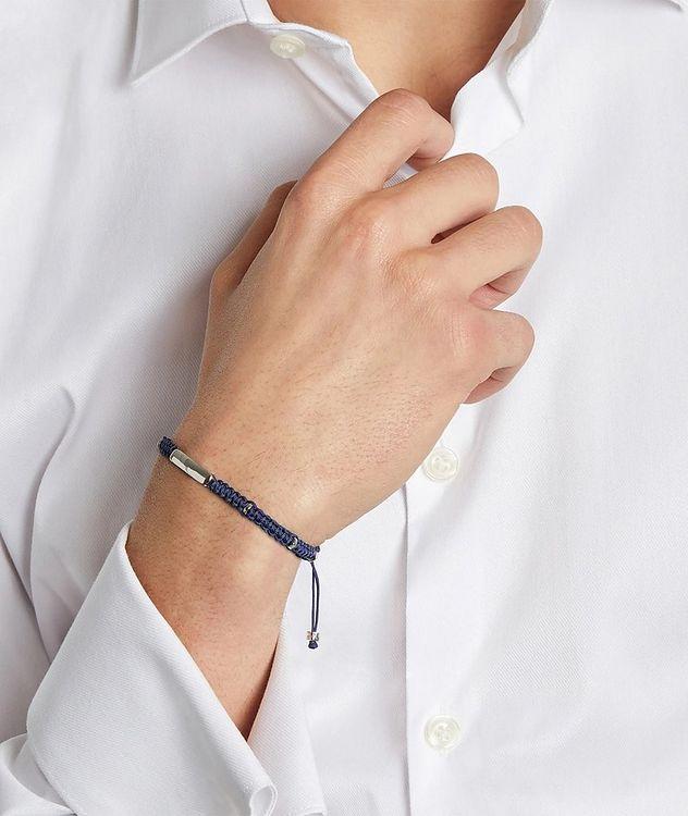 Engravable Macramé Bracelet picture 4