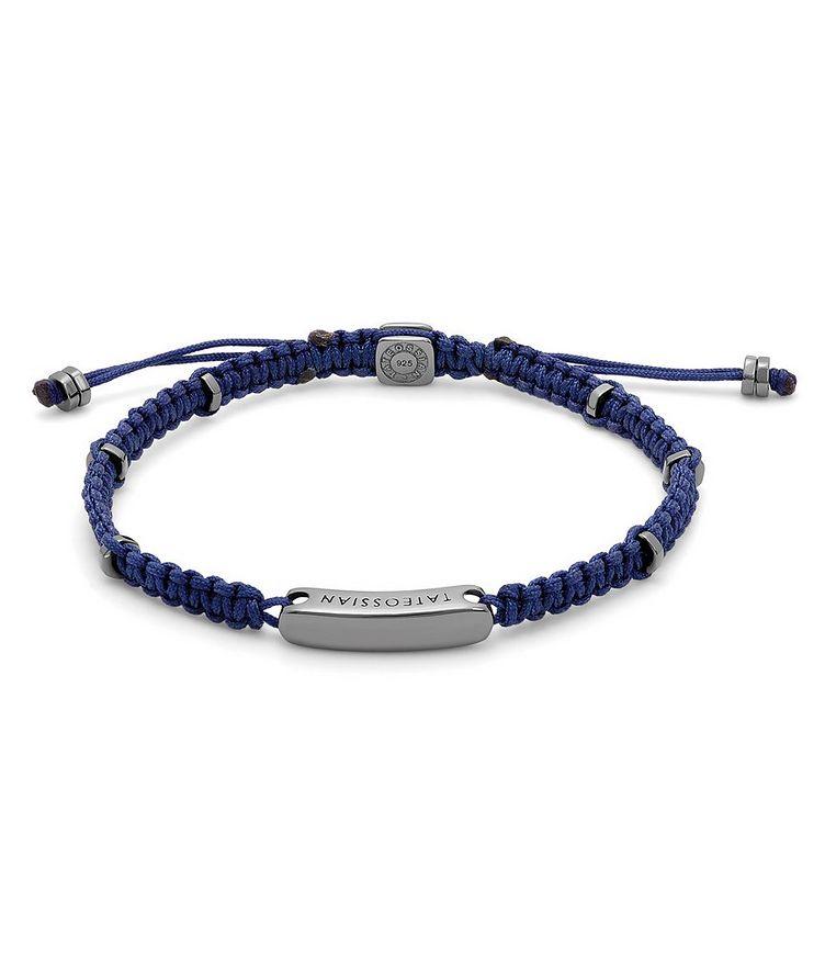 Engravable Macramé Bracelet image 0