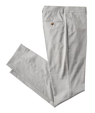 Brunello Cucinelli Contemporary Fit Virgin Wool Dress Pants