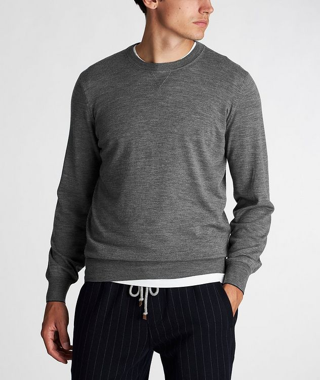 Wool-Cashmere Sweatshirt picture 2