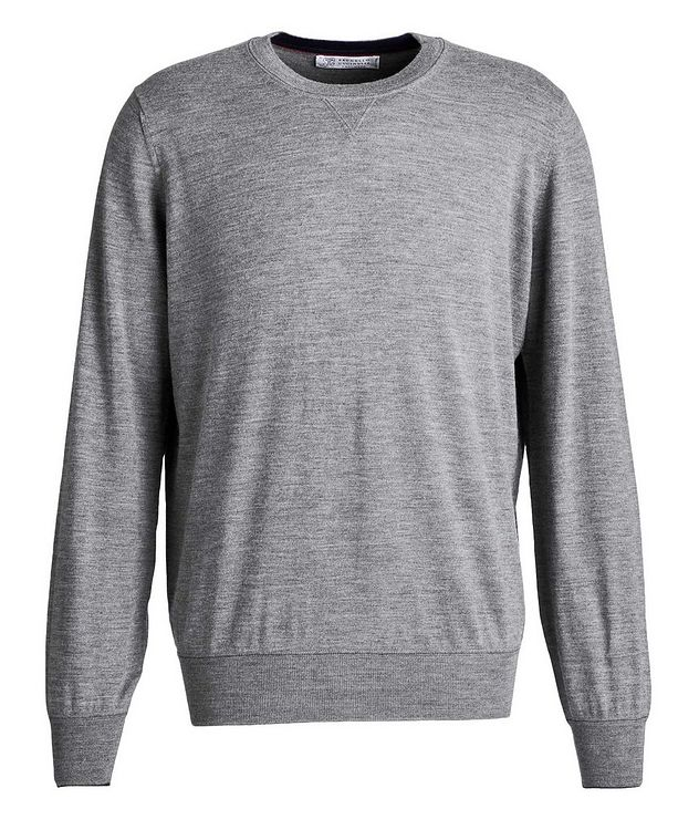 Wool-Cashmere Sweatshirt picture 1