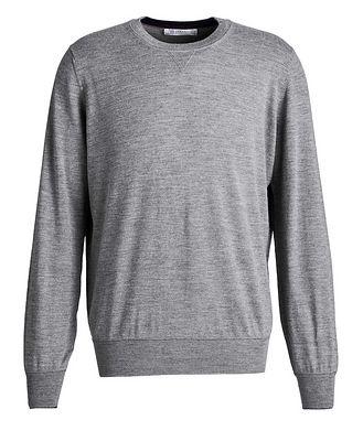 Brunello Cucinelli Wool-Cashmere Sweatshirt