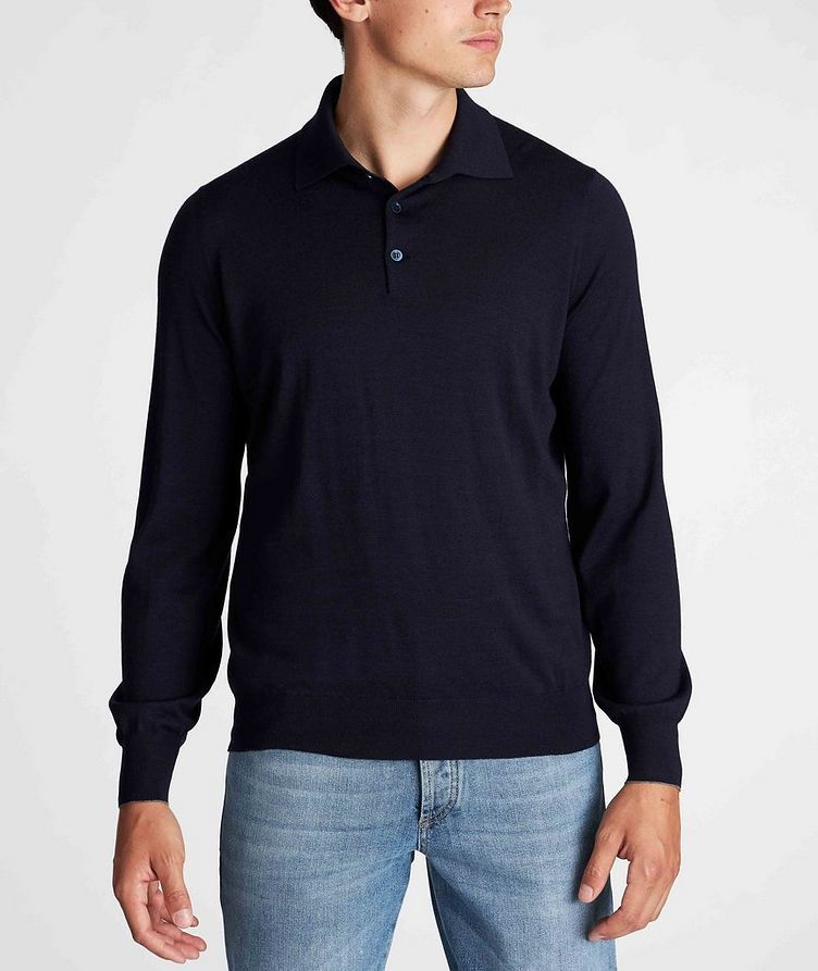 Wool-Cashmere Polo image 1