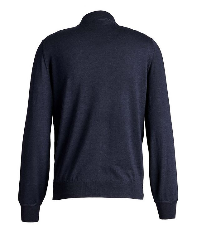 Wool-Cashmere Mock Neck Sweater picture 2