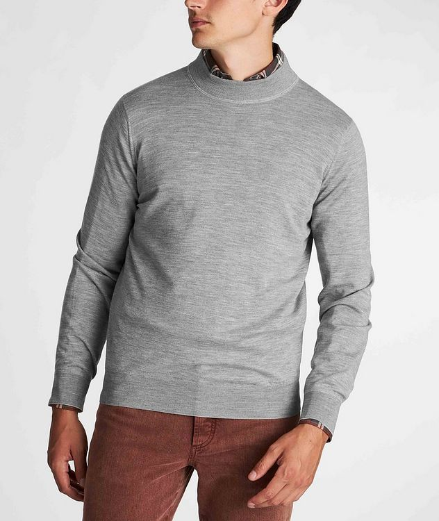 Cashmere Mockneck Sweater picture 2