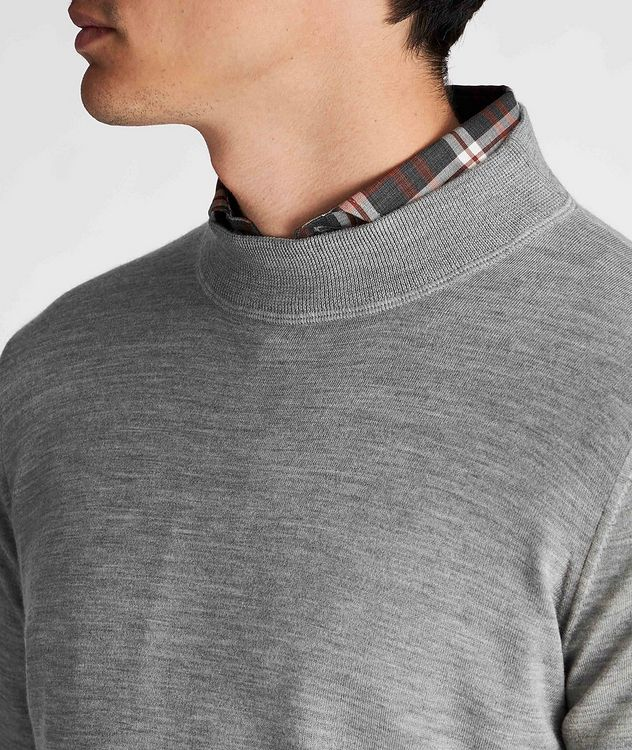 Cashmere Mockneck Sweater picture 4