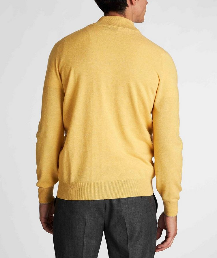 Zip-Up Cashmere Sweater image 2