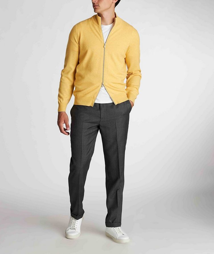 Zip-Up Cashmere Sweater image 5