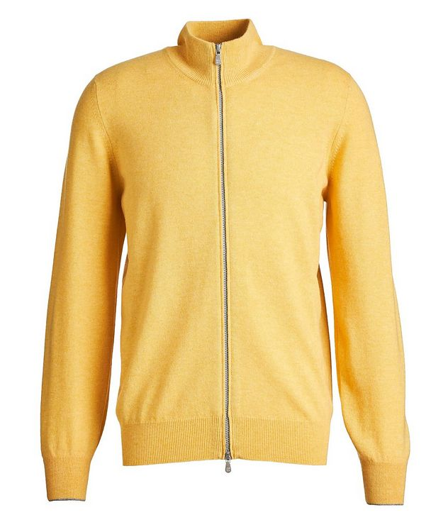 Zip-Up Cashmere Sweater picture 1