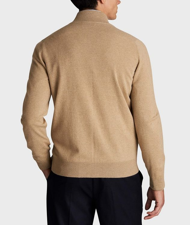 Zip-Up Cashmere Sweater picture 3