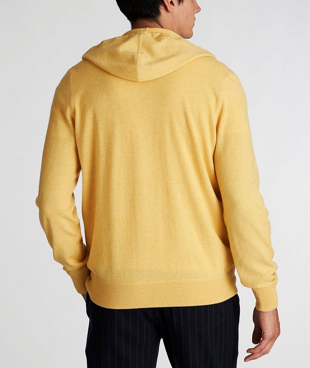 Zip-Up Cashmere Hoodie picture 2