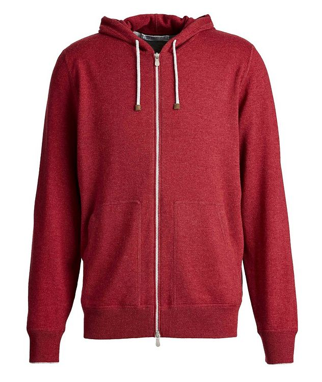Zip-Up Cashmere Hoodie picture 1