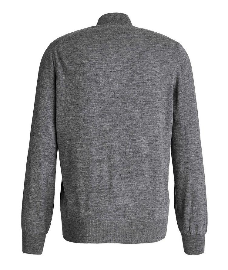 Cashmere-Virgin Wool Zip-Up Cardigan image 1