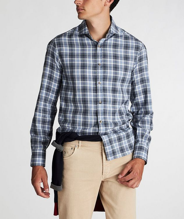 Plaid Cotton Shirt picture 2