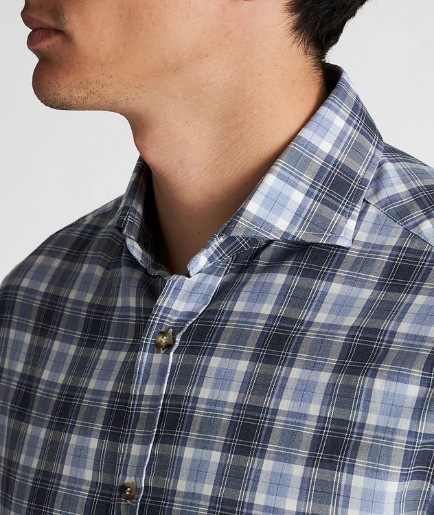 Plaid Cotton Shirt picture 4