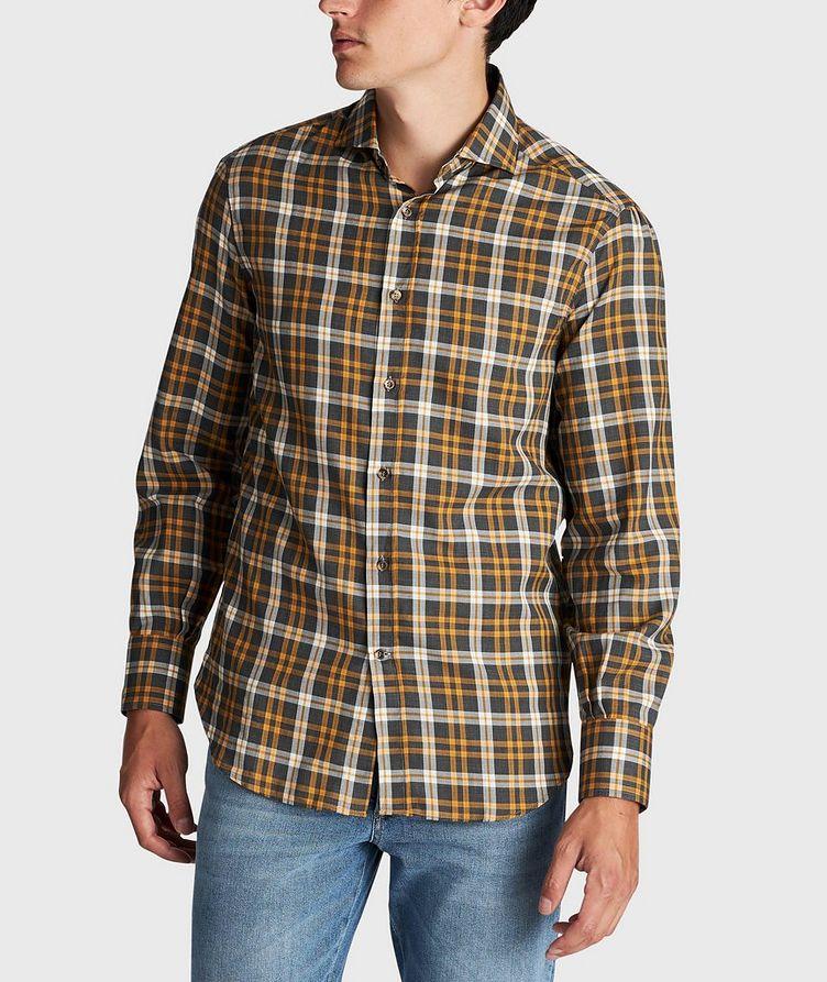 Chemise en coton à carreaux image 1