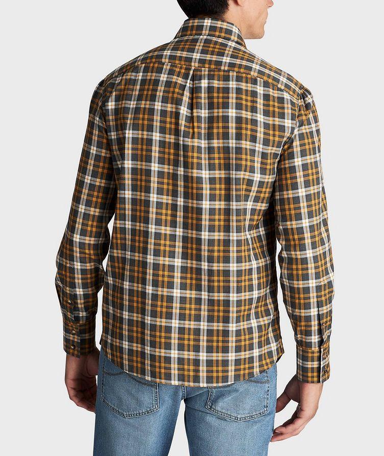 Chemise en coton à carreaux image 2