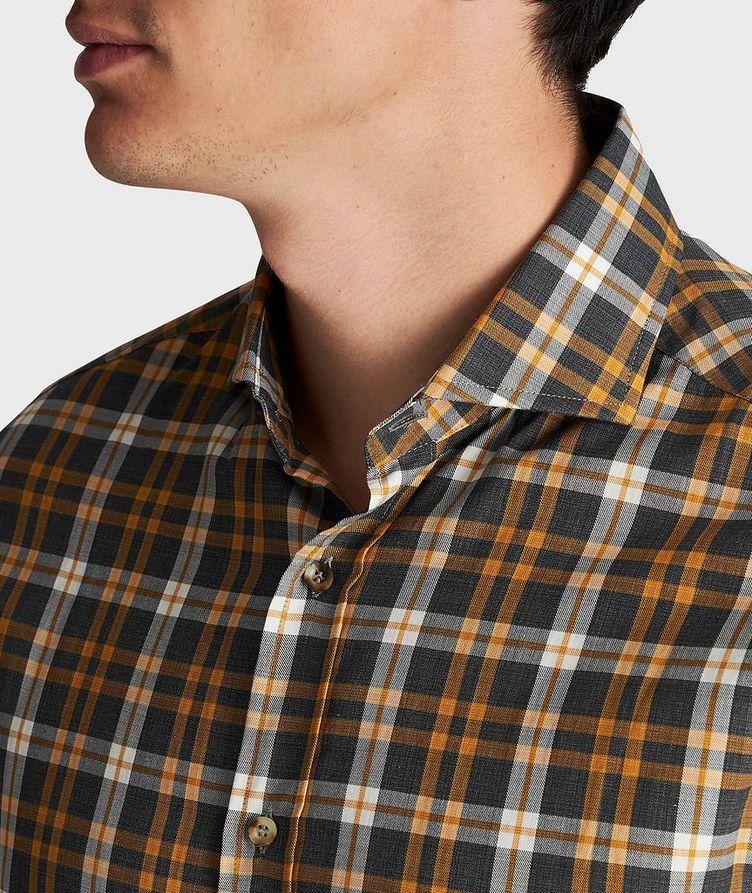 Chemise en coton à carreaux image 3